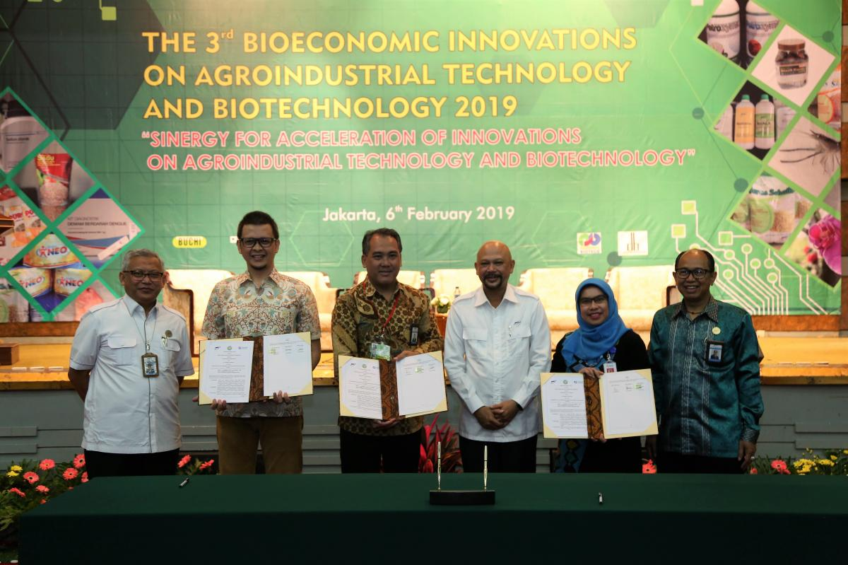 THE 3rd BIOECONOMIC INNOVATIONS ON AGROINDUSTRIAL TECHNOLOGY AND BIOTECHNOLOGY (TAB)